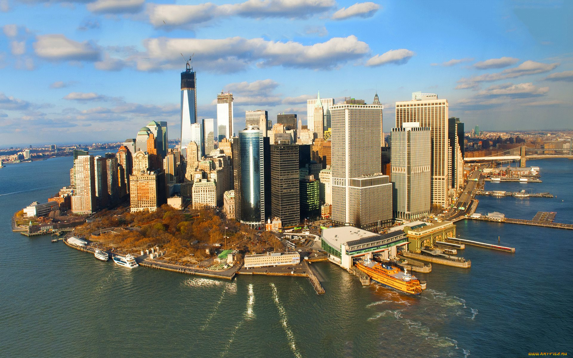 вам фото города манхэттен фотографии